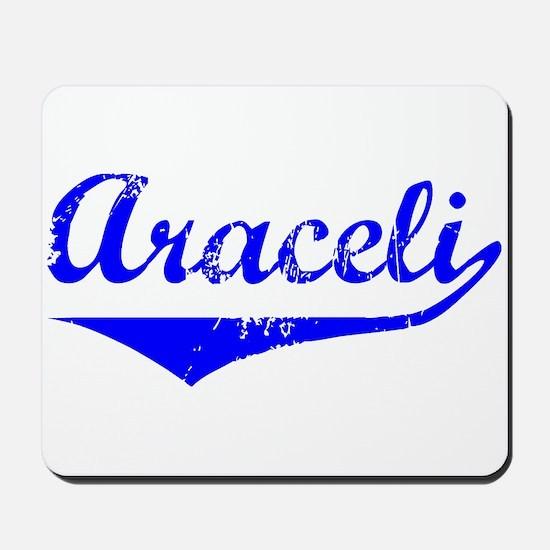 Araceli Vintage (Blue) Mousepad