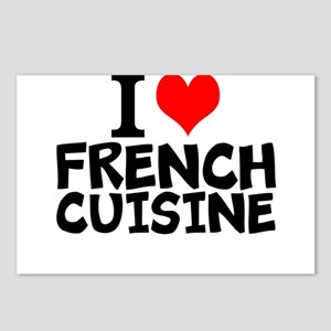 I Love French Cuisine Postcards (Package of 8)
