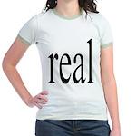 286. real. .  Jr. Ringer T-Shirt