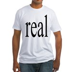 286. real. .  Fitted T-Shirt