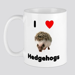 I Love Hedgehogs Mug
