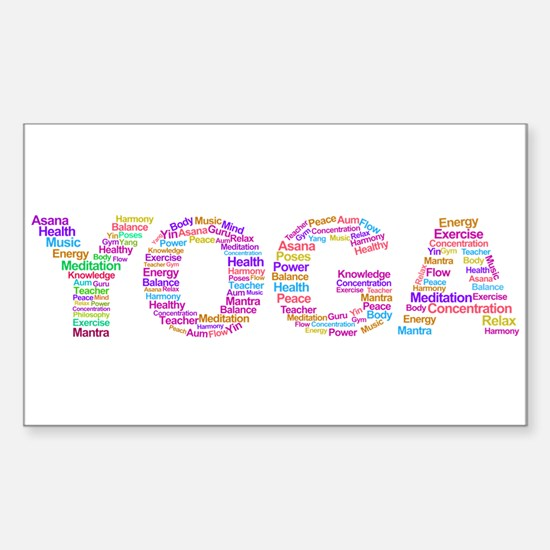 YOGA Decal