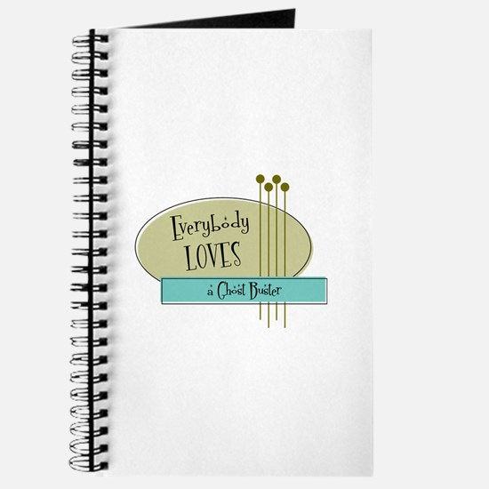 Everybody Loves a Ghost Buster Journal