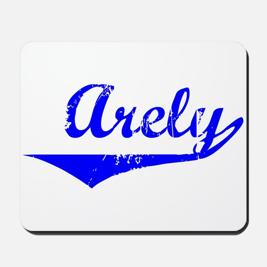 Arely Vintage (Blue) Mousepad