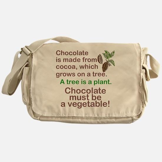 Unique Chocolate Messenger Bag