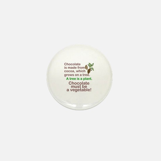 Funny Cocoa Mini Button