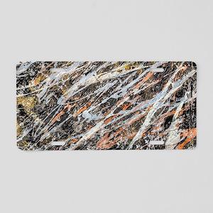 Copper Ore Aluminum License Plate
