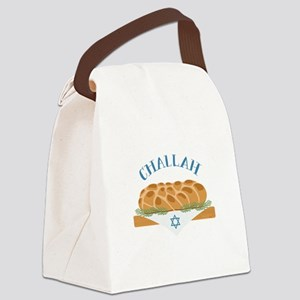 Holiday Challah Canvas Lunch Bag
