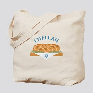 Holiday Challah Tote Bag