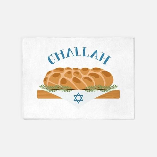 Holiday Challah 5'x7'Area Rug