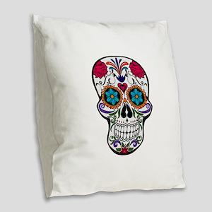 SUGAR Burlap Throw Pillow