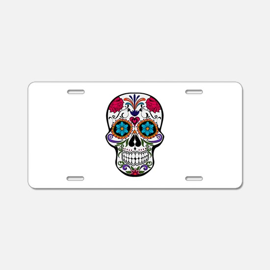 SUGAR Aluminum License Plate