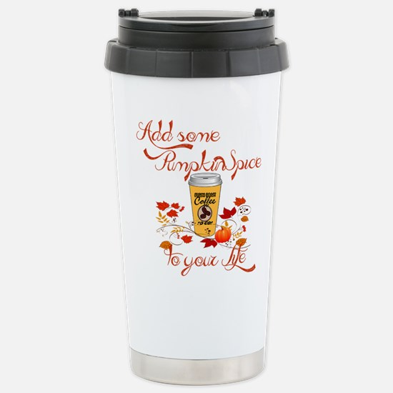 Pumpkin spice Stainless Steel Travel Mug