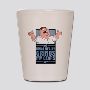 family guy grinds my Shot Glass
