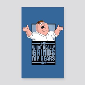 family guy grinds my Rectangle Car Magnet