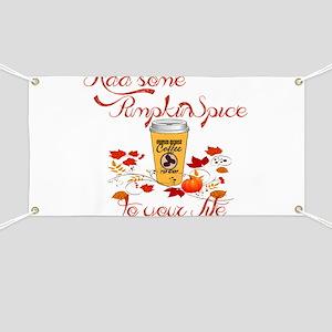 Pumpkin spice Banner