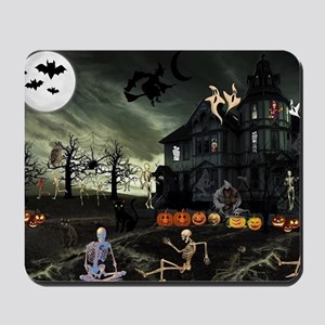 Skeleton Graveyard Mousepad