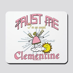 Angelic Clementine Mousepad