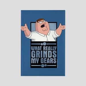 family guy grinds my Rectangle Magnet