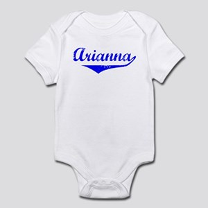 Arianna Vintage (Blue) Infant Bodysuit