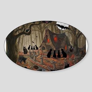 Halloween Black Cats Sticker