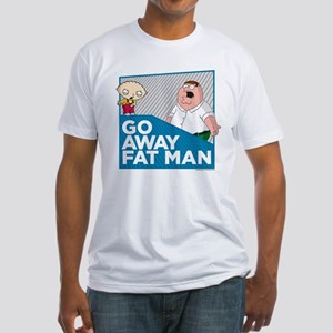 Family Guy Fat Man Fitted T-Shirt