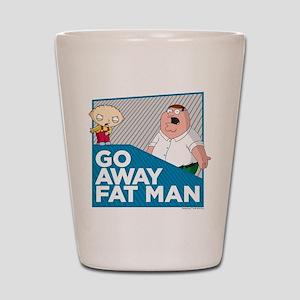 Family Guy Fat Man Shot Glass