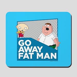 Family Guy Fat Man Mousepad