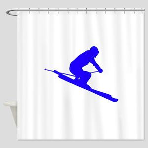SKI Shower Curtain