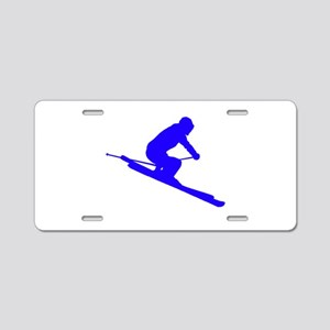 SKI Aluminum License Plate