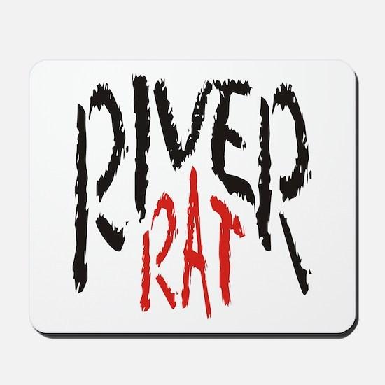 Poker River Rat Mousepad