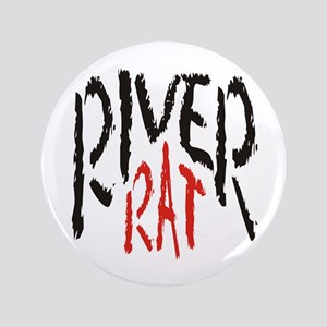 "Poker River Rat 3.5"" Button"