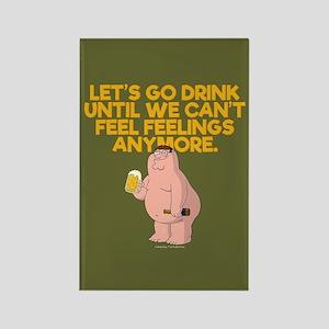 Family Guy Go Drink Rectangle Magnet