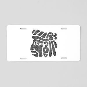 WARRIOR Aluminum License Plate