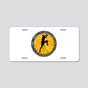 CLIMB Aluminum License Plate
