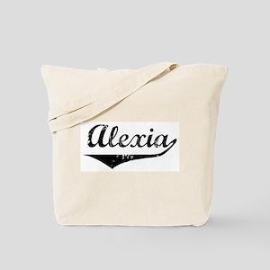 Alexia Vintage (Black) Tote Bag