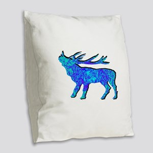 ELK Burlap Throw Pillow