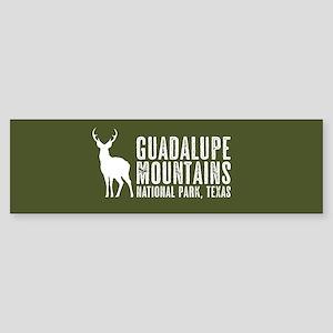 Deer: Guadalupe Mountains, Texas Sticker (Bumper)