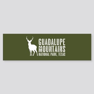 Deer: Guadalupe Mountains, Texas Sticker (Bumper)