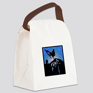 WAKEBOARD Canvas Lunch Bag