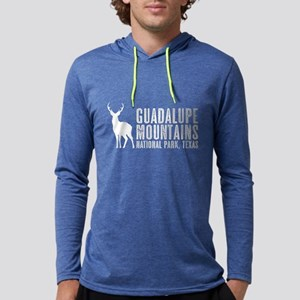 Deer: Guadalupe Mountains, Texas Mens Hooded Shirt