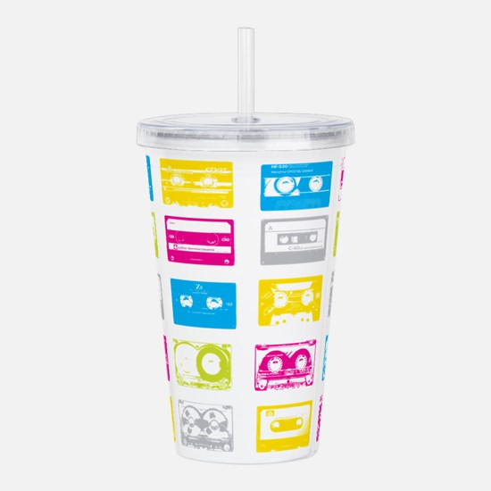 80's Cassettes Acrylic Double-wall Tumbler