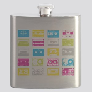80's Cassettes Flask