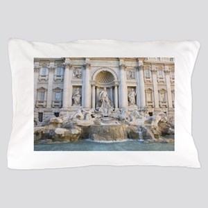 Trevi Fountain Pillow Case