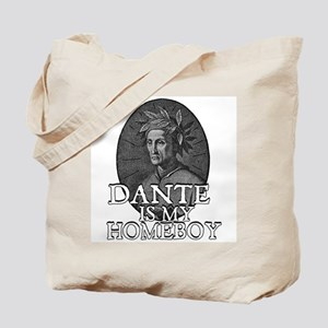 Dante is my Homeboy Tote Bag