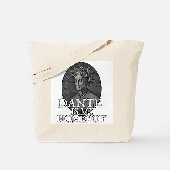 Dante is my Homeboy Tote Bag