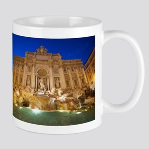 Trevi Fountain Mugs