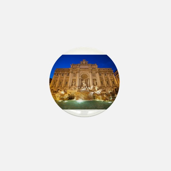 Trevi Fountain Mini Button