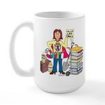 A Super Advocate Large Mug
