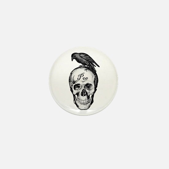 Raven Poe Mini Button
